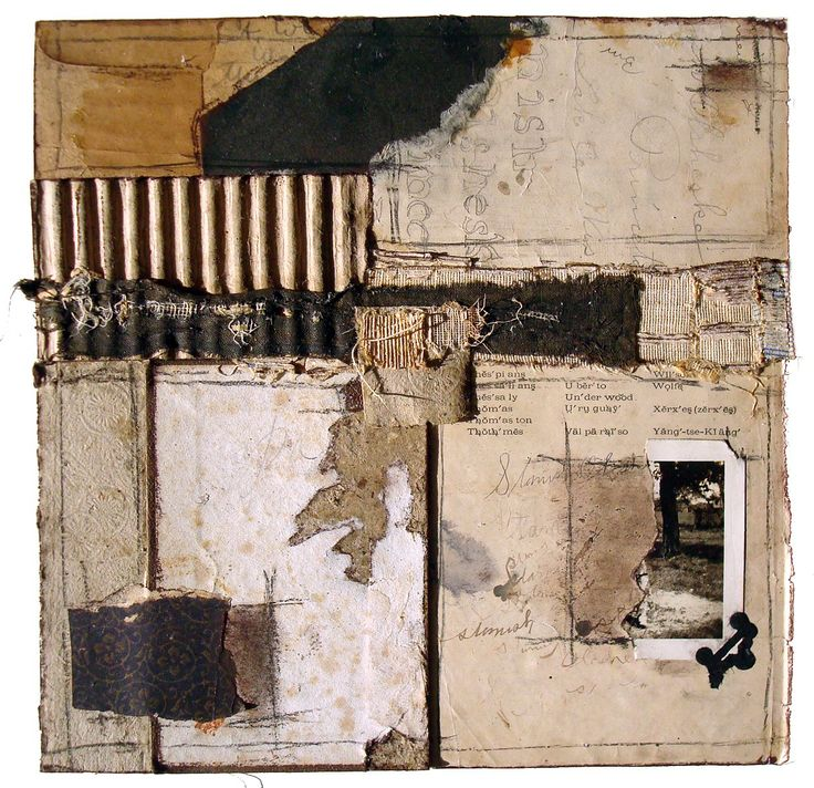 Crystal Neubauhr  Around the Mulberry Bush 2013 Collage Mixed Media 10 x 10