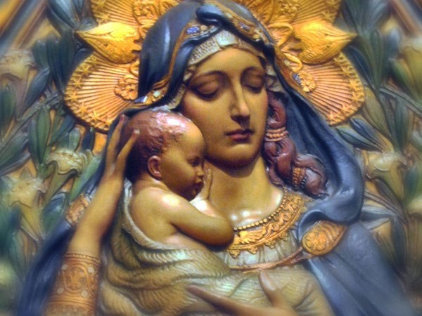 Blessed story mary the of virgin