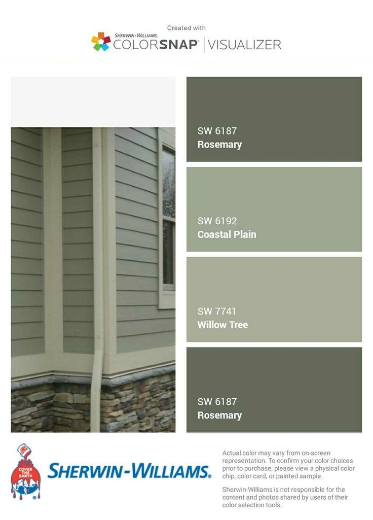 Potential Exterior Paint Colours Green House Exterior Exterior House Colors Exterior House Paint Color Combinations