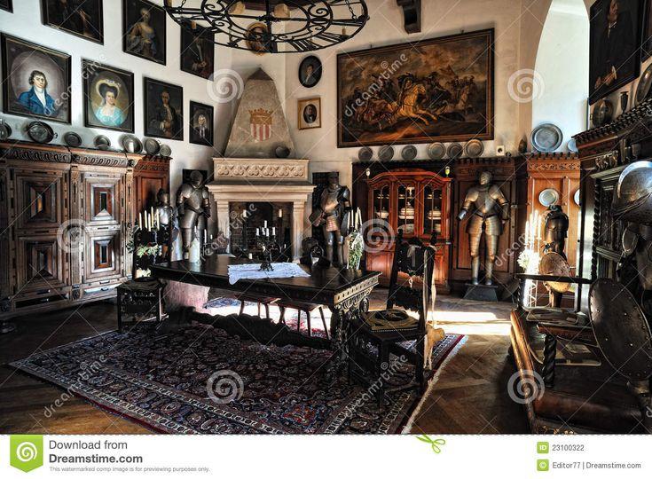Middle Rhine Interior Of Reichenstein Castle