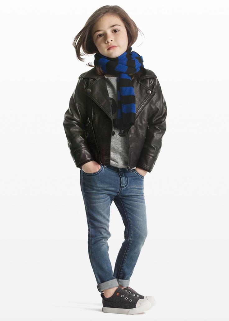 Joe Fresh Kids Moto Jacket Cute Little Tomboy Style