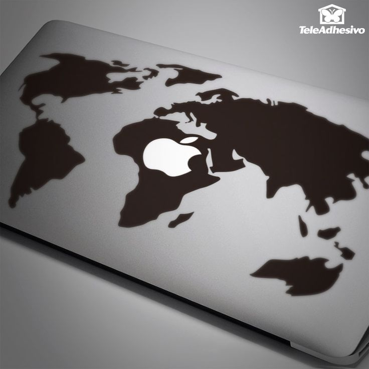 80 best stikers mac book images on pinterest macbook 13 macbook macbook sticker world map valid for macbook air macbook 13 gumiabroncs Gallery
