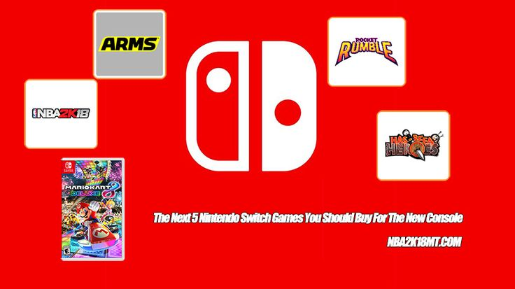 The Nintendo Switch will have a wide variety of titles available within the first six months of its March 3 release. Assuming you already have Breath of the Wild and perhaps Super Bomberman R, here's a list of five games you may want to pick up next.