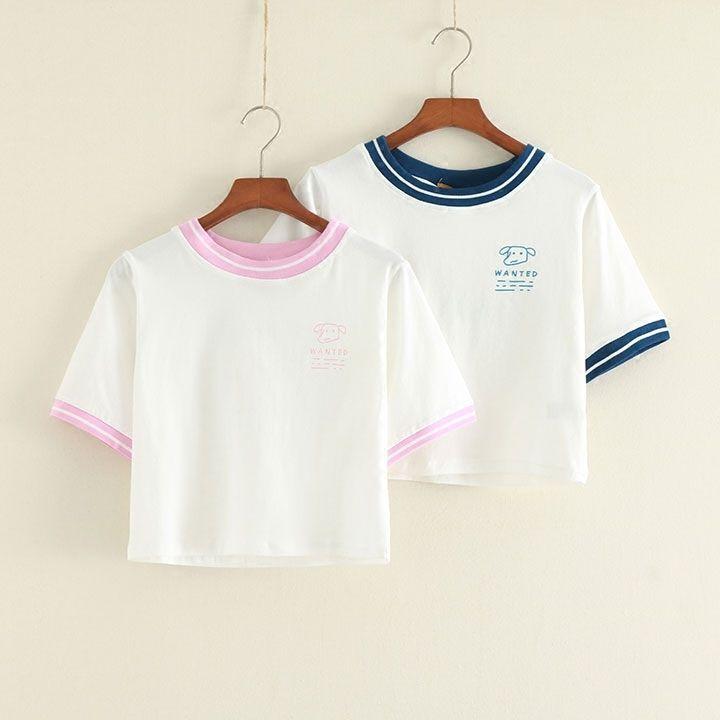 Infantil Lindo Harajuku Maid studend Mangas Cortas Camiseta Prendas para el torso corto de algodón | Ropa, calzado y accesorios, Ropa para mujer, Camisetas/poleras | eBay!