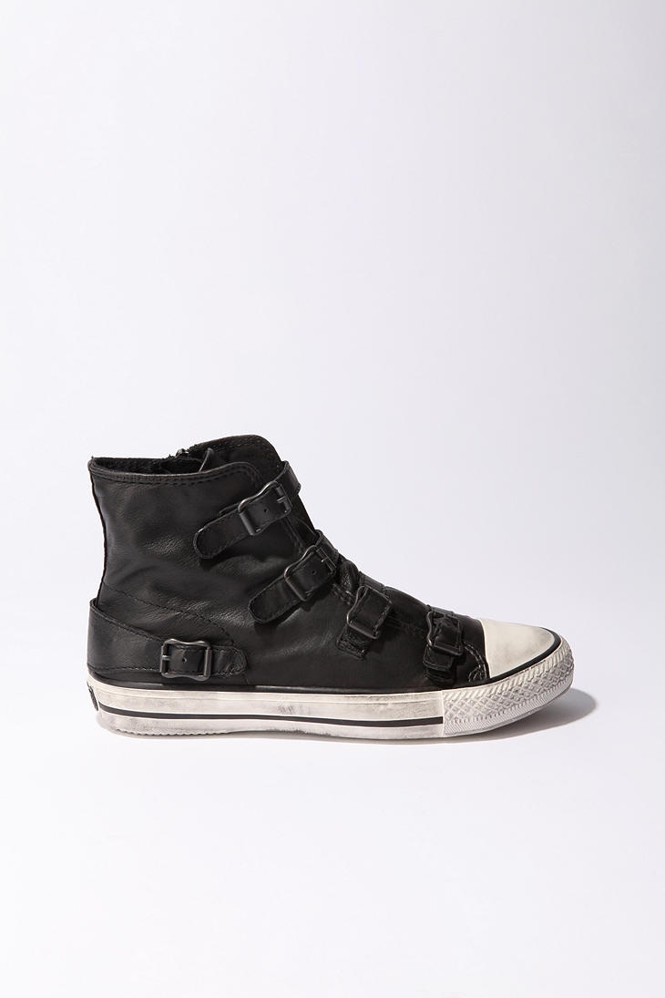 love it!: Secretly Fashionable, Buckle Leather, Buckle Hi Tops, High Tops, Fall Shoes, Catalog, Sneakers, Ash Buckle