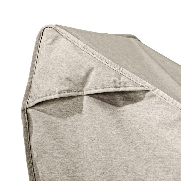 Classic Accessories Montlake™ FadeSafe® Deep Seated Patio Sofa/Loveseat Cover, Medium, Grey, Patio Furniture