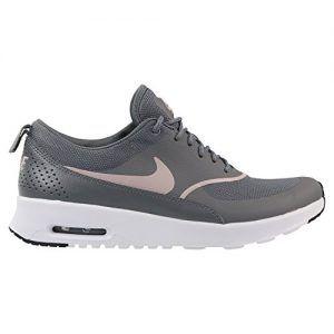 Nike Damen Air Max Thea Sneaker, Grau (Gunsmoke/Particle Rose-Black ...