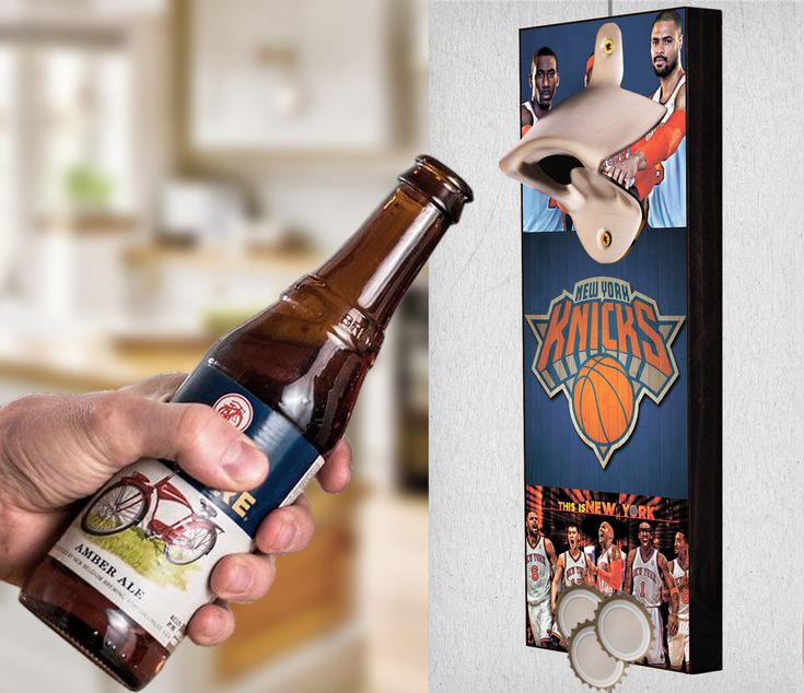 This New York Knicks bottle opener can be a great gift to any sports fan. It's the perfect addition to any man cave, bar area, kitchen, or to just put out while watching the big game. It is also a great groomsmen gift. New York Knicks Wall Mount Bottle Opener New York Knicks Cap Catcher New York Knicks Wall Opener New York Knicks Beer Opener New York Knicks Wall Art New York Knicks Craft New York Knicks Decor New York Knicks Gift New York Knicks Diy New York Knicks Art