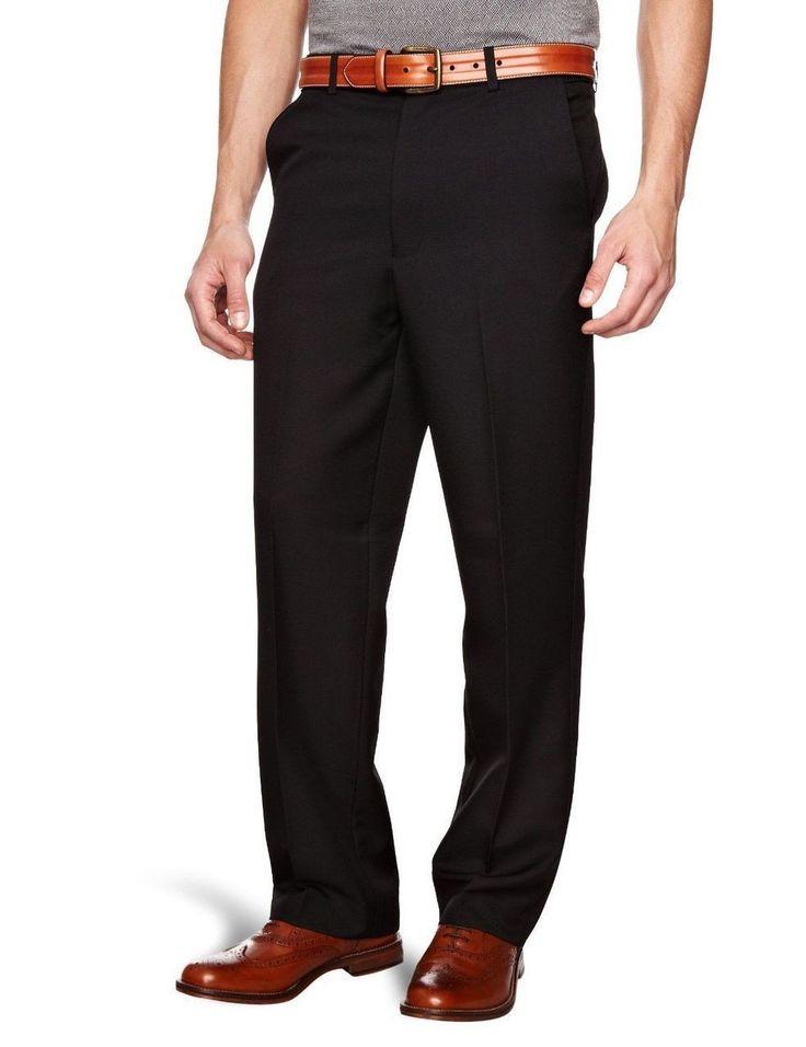 Farah Flexi Waist Trousers Black
