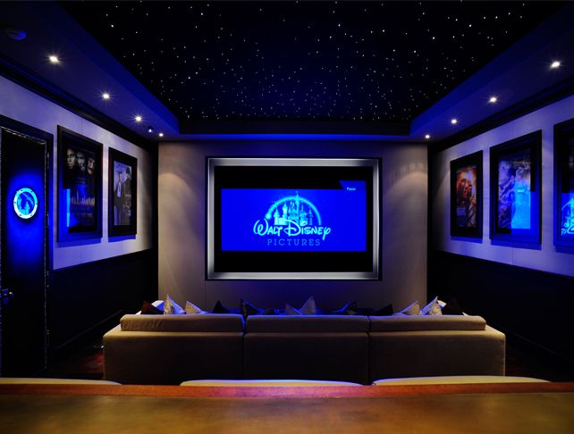 Superior Disney Theater Room Oh God