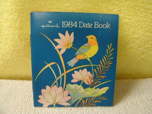 Image result for hallmark date book
