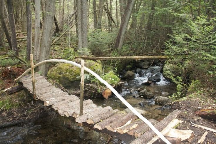 how to build a footbridge over a creek woodworking projects plans. Black Bedroom Furniture Sets. Home Design Ideas