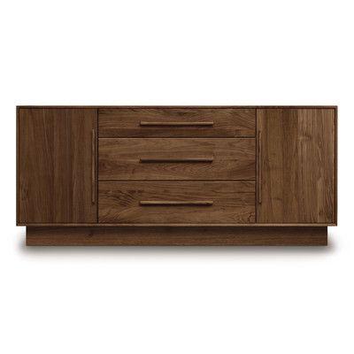 Copeland Furniture Moduluxe 3 Drawer Combo Dresser - http://delanico.com/dressers/copeland-furniture-moduluxe-3-drawer-combo-dresser-737182309/