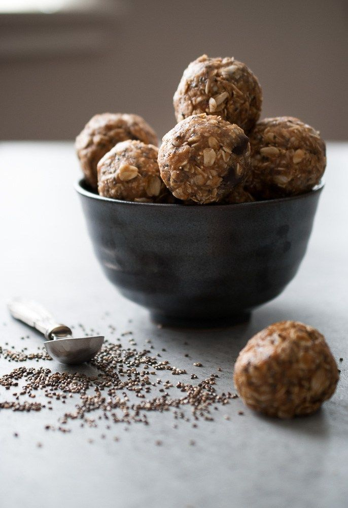 No Bake Oatmeal Energy Bites | life is but a dish