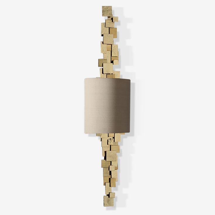 Porta Romana - TWL88, Luca Wall Light - Brass