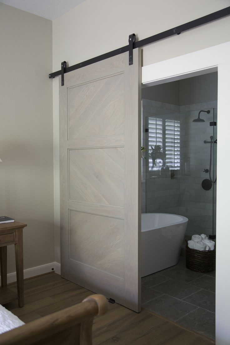 Before After Bathroom And Barn Doors On Pinterest
