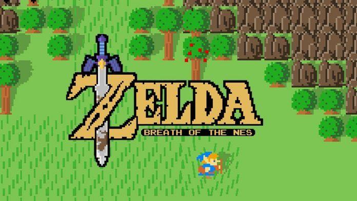 ゼルダの伝説 ブレス オブ ザ ワイルドを2D化するファンゲーム権利侵害で公開停止オリジナルゲームとして再出発へ