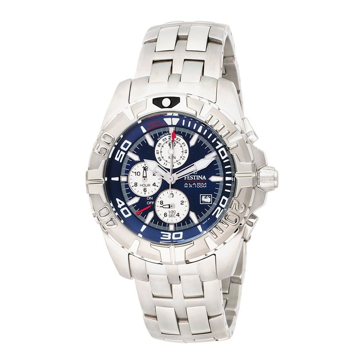 Festina Men's F16095/9 Tour All 1 Stainless Steel Easy-Set Alarm Watch. Festina tour all one stainless steel. Easy-set alarm style number F16095/9. Alarm. Tour al 1. Water resistant to 99 feet (30 M): withstands rain and splashes of water, but not showering or submersion.
