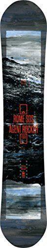 Rome Agent Rocker Snowboard 155 2013 by Rome. Rome Agent Rocker Snowboard 155 2013. 155cm.