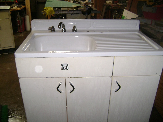 7 best Vintage Sink Bases images on Pinterest  Vintage sink Kitchen sinks and Vintage kitchen