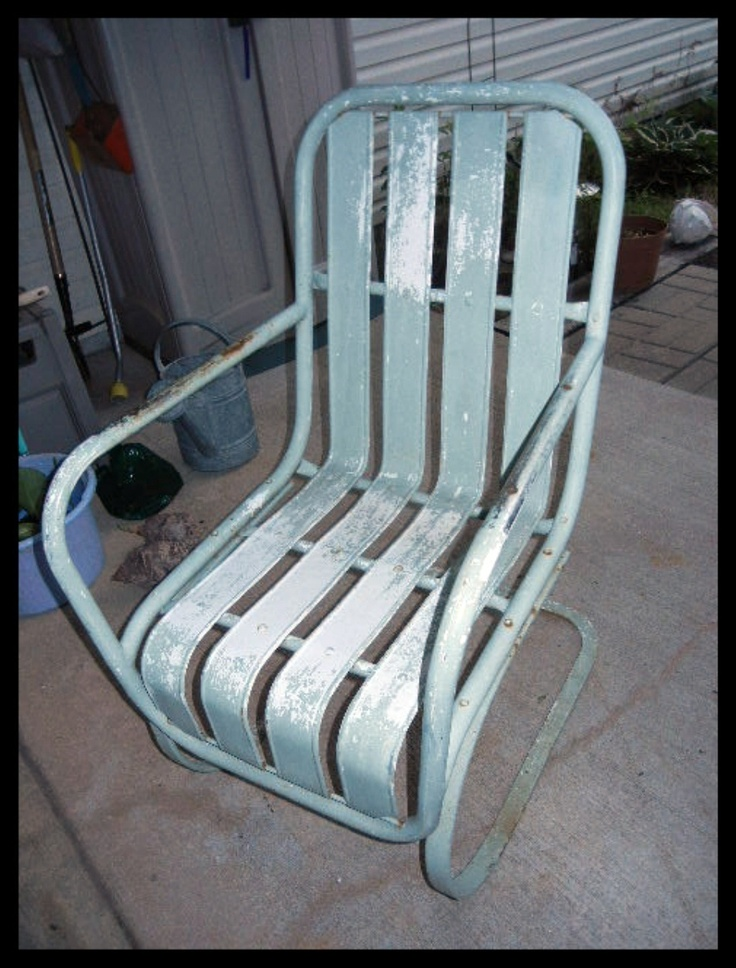 248 Best Images About Chairs On Pinterest Metal Lawn Chairs Chair Planter