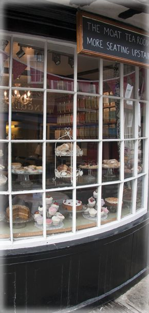 Moat Tea Rooms - Oldest Tea Rooms in Canterbury, Kent