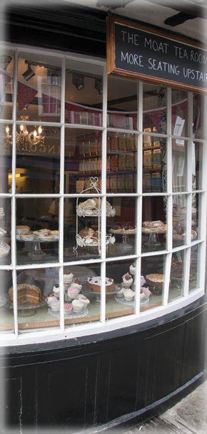 Moat Tea Rooms - Oldest Tea Rooms in Canterbury, Kent, England