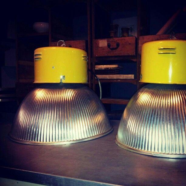 Lampade industriali - # officinamobileroma - www.officinamobileroma.com
