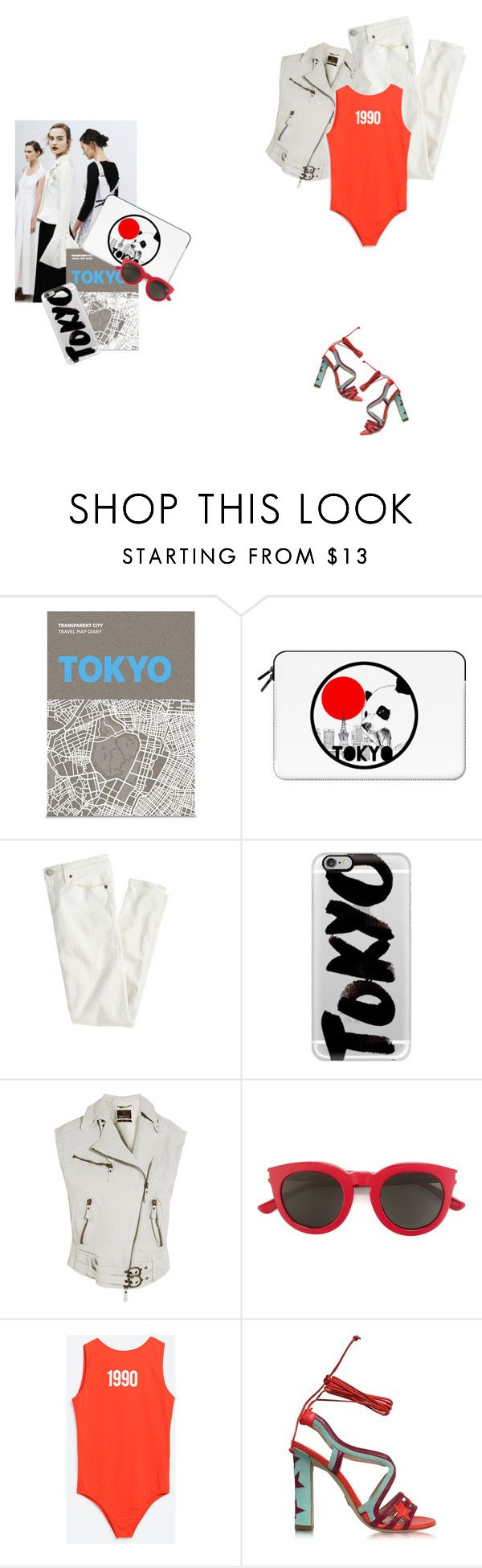 """Time to say goodbye"" by lajudy ❤ liked on Polyvore featuring Palomar, Casetify, J.Crew, Roberto Cavalli, Yves Saint Laurent, Paula Cademartori, tokyo and Packandgo"