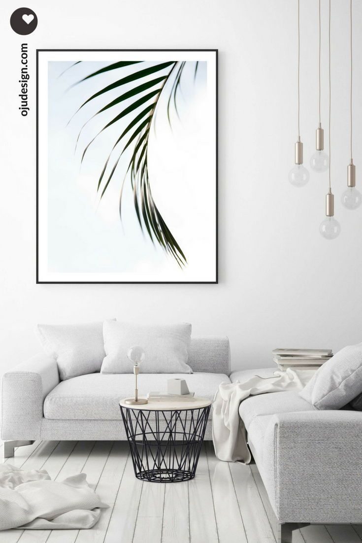 Extra Large Wall Art Tropical Leaves Coastal Wall Art Etsy Coastal Wall Decor Minimalist Decor Minimalist Home Decor