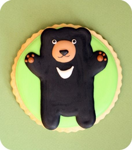 Bear!Black Ice, Zoos Animal, Colors Royal, Sugar Cookies, Bears Cookies, Decor Cookies, Cookies Tutorials, Cookies Ice, Cookies Inspiration