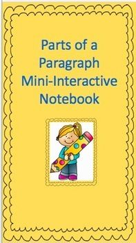 This interactive notebook relates the parts of a paragraph to a traffic stoplight. Teachers and students will use this notebook to identify the parts of a paragraph including the topic sentence, the body of a paragraph, transition words that make the paragraph flow smoothly, and a list of concluding sentence starters.
