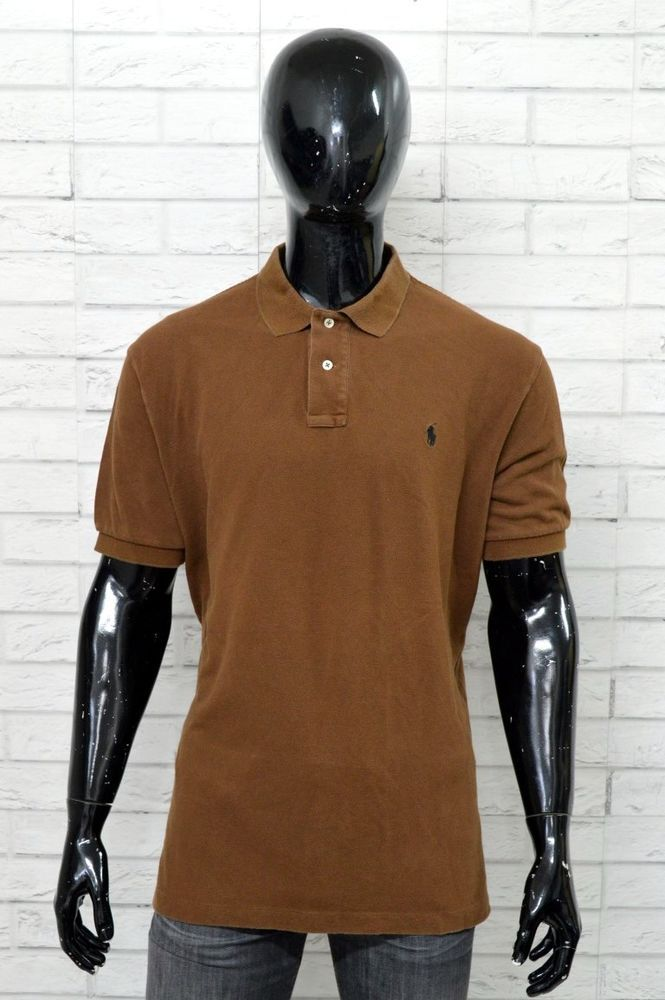 Polo Maglia Ralph Xxl Taglia Shirt Uomo Lauren Maglietta Cotone OZkXiuPT