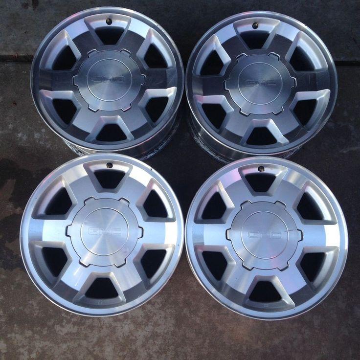 04 05 06 Set Of Four Wheels Rims GMC Yukon XL  Sierra 1500  17 Inch OEM  5193