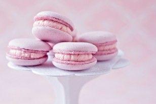 Cassis-Macarons Rezept