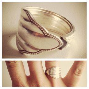 DOITYU.de » - Dein Portal für Do-it-Yourself Ideen & Tipps! » Ring aus Silberlöffel