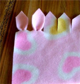 No Sew Edge For Fleece Blankets Craft Ideas Pinterest