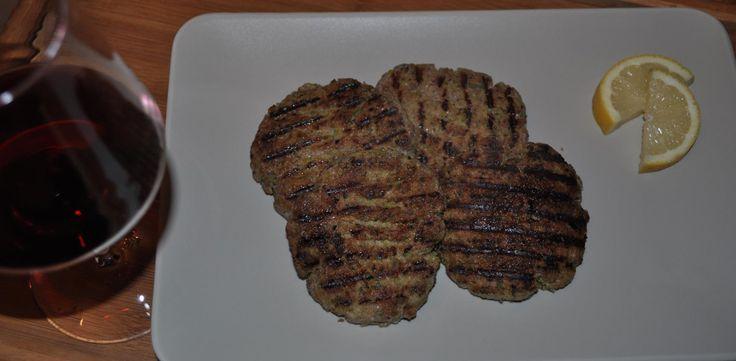 hamburger home made di carne e zucchine