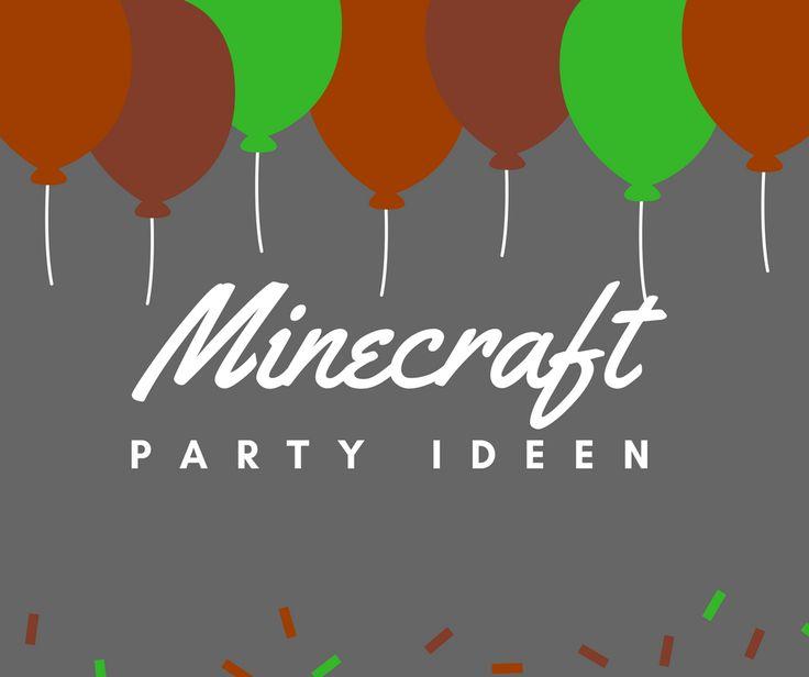 Best Kindergeburtstag Minecraft Images On Pinterest Birthdays - Minecraft spiele free download