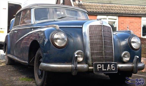 مرسيدس تعرض سيارتان قديمتان على المزاد العلني بعد اكتشاف اثنين من سيارات مرسيدس بنز الكلاسيكية مؤخر ا بعد عقود من ركودهما في مرآب Cabriolets Mercedes Rare