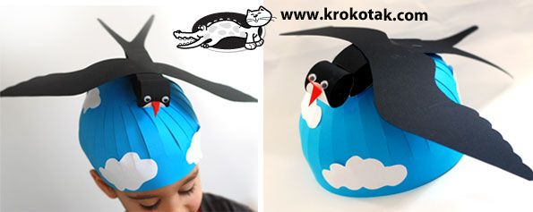 Mask swallow for kids
