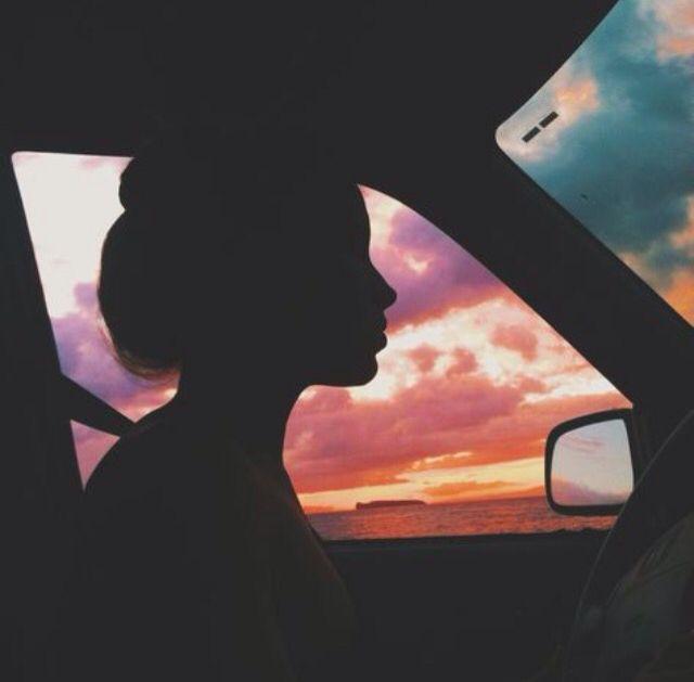 Feet on dashboard passenger seat silhouette