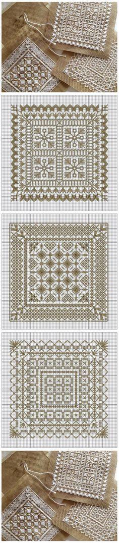 Embroidery patterns / Схемы для...