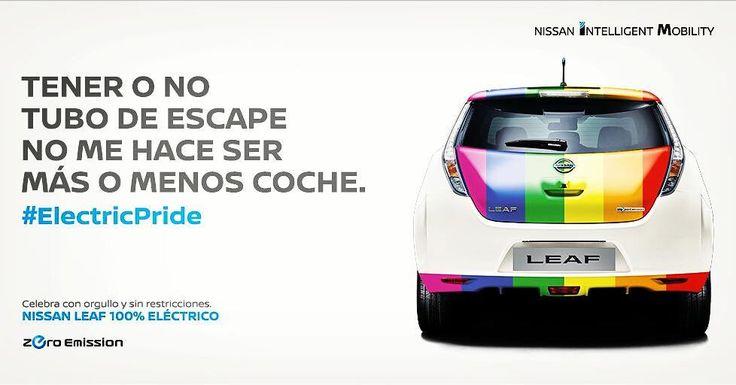 Genial idea de Nissan para el #Orgullo2017