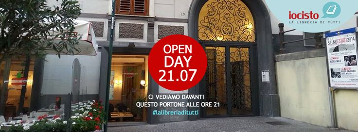 On July 21st 2014 we celebrated the opening of our bookshop: a then empty space that in just three months has been filled with books and love.  #iocistolibreria #lalibreriaditutti #story #bookshop #openday #italy