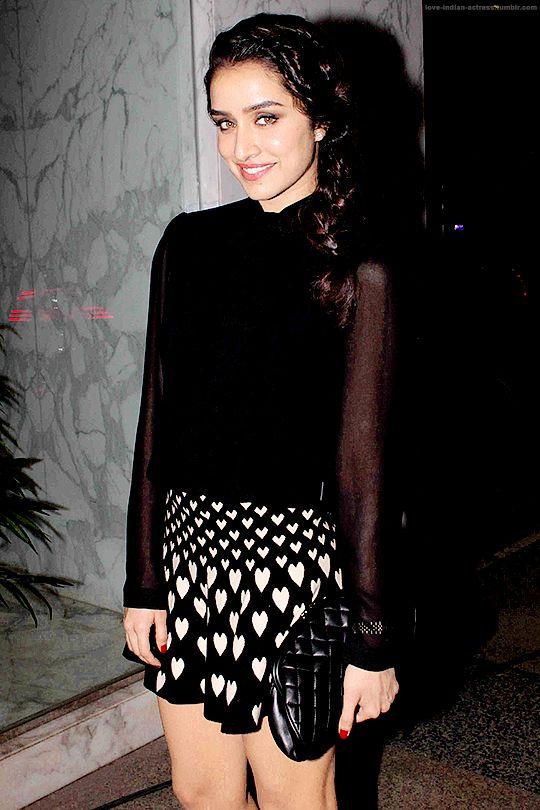 Shraddha Kapoor at Kangana Ranaut Party
