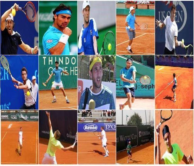 FOTOGRAFIA & SPORT, DI ALFREDO LUONGO : TENNIS ATP RANKING TOP 15 ITALIA 24/10/2016