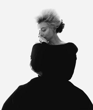 "Bert Stern - Marilyn Monroe: From ""The Last Sitting"", 1962 (VOGUE Black Dress)"