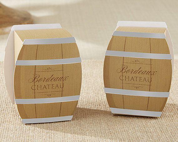 Wijn vat gunst boxset van 24 behandelt Goodie door TaaraBazaar