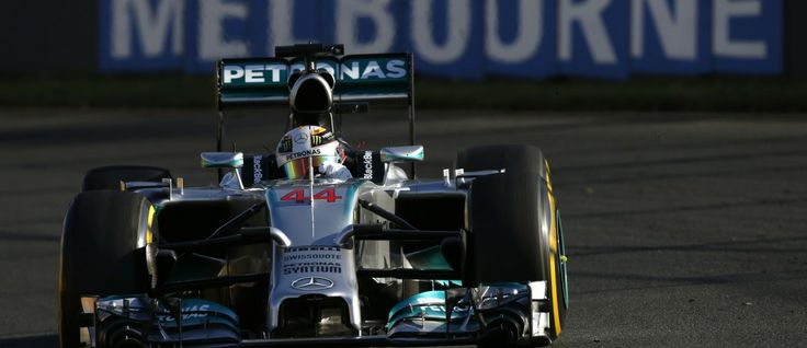 Rampant Hamilton charges to first 2014 pole » RaceDepartment